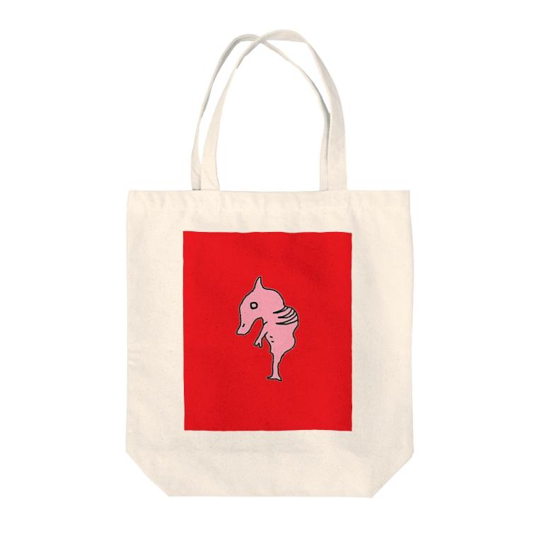 二階堂響輔のモンスターの胎児 Tote bags