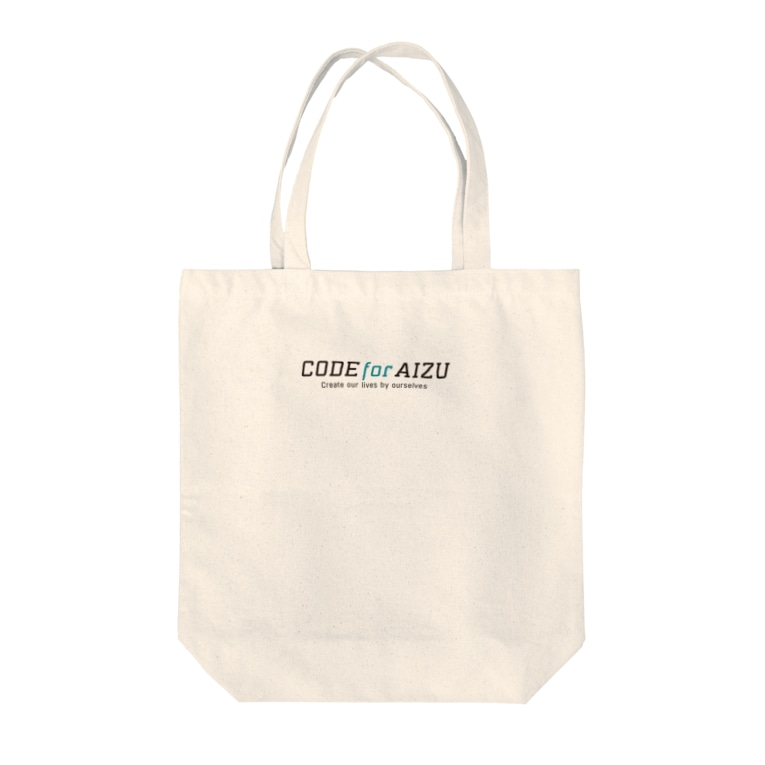 CODE for AIZUのCODE for AIZU Tote bags