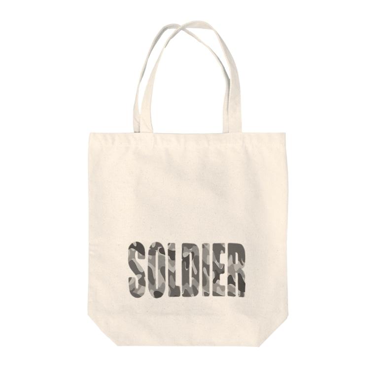 フォーヴァのSOLDIER Tote bags