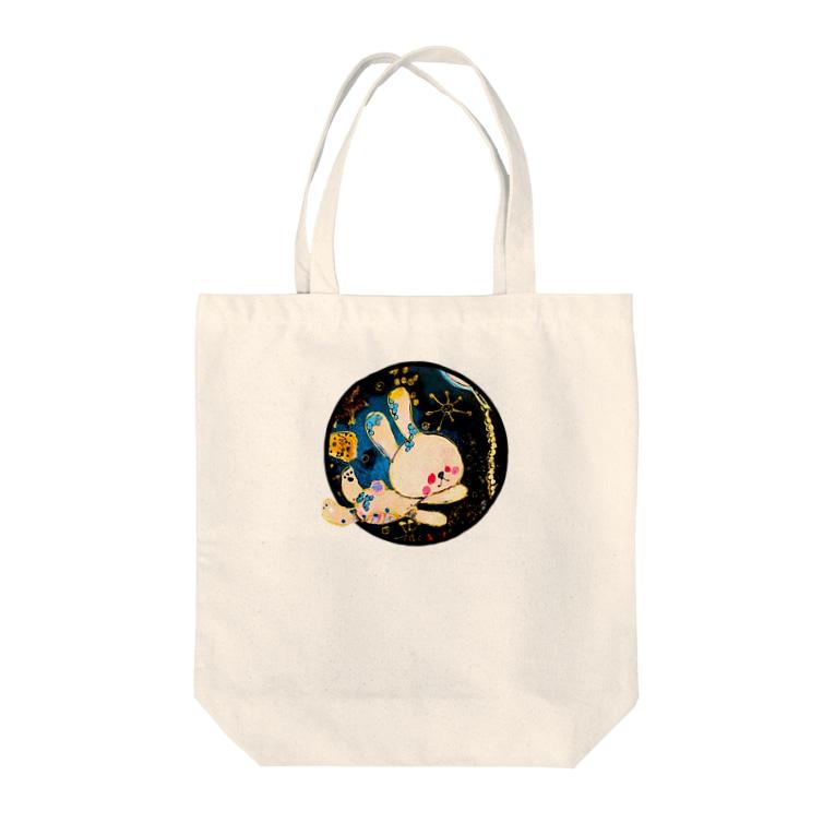 江戸川ベニのムーーーン Tote bags