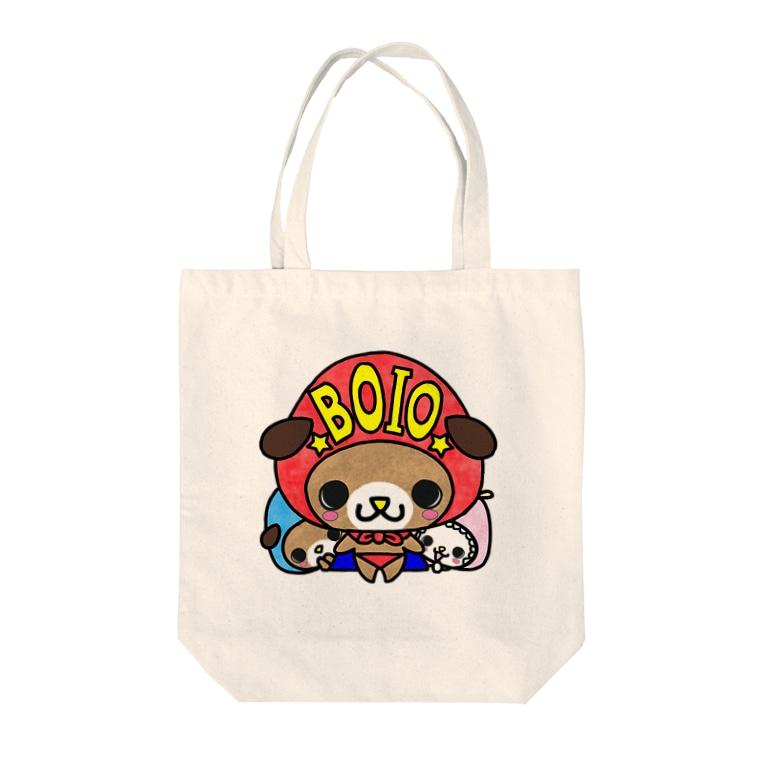 yucca-ticcaのぼいお Tote bags