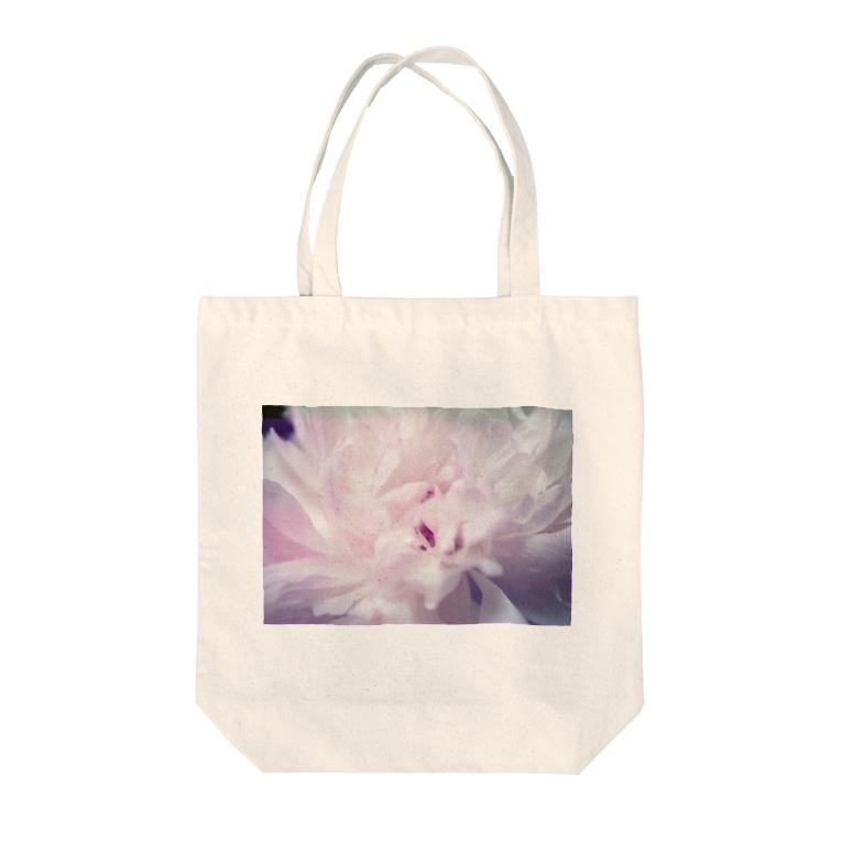 hajimenanoのしゃくやく Tote bags