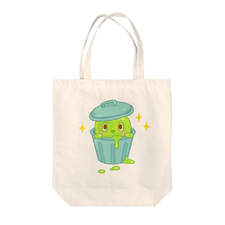 ZipBearTownのドロンドロ バケツ Tote bags