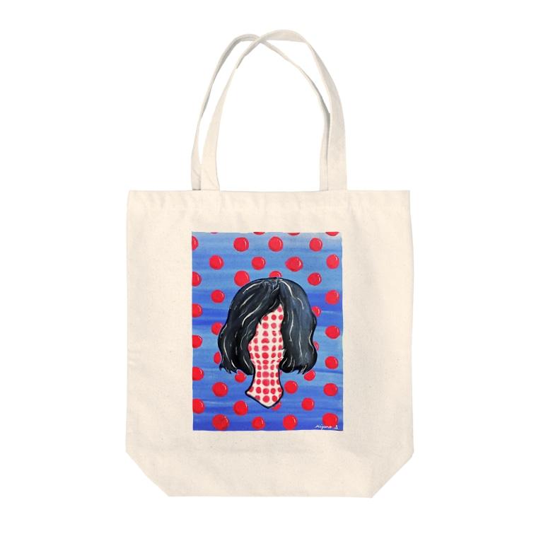 みずのしおり屋のカリスマ Tote bags