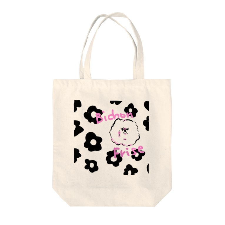 fuwamokoのはなもこ Tote bags