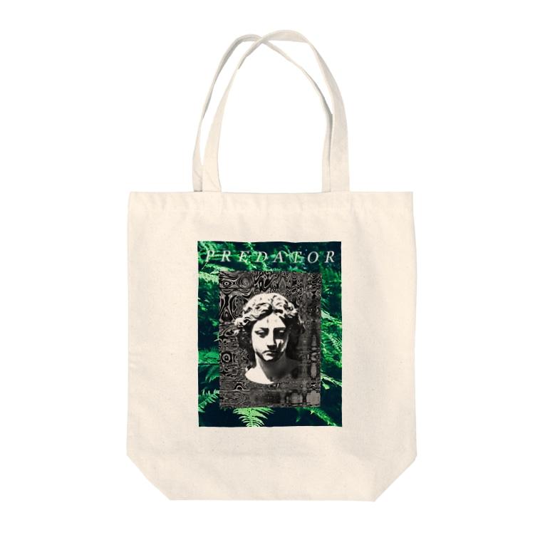 新しい映像の捕食し【販売終了】 Tote bags