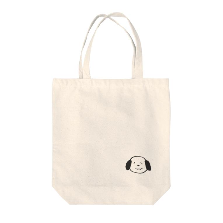 ピルンカー屋さんの透過ナンディー Tote bags