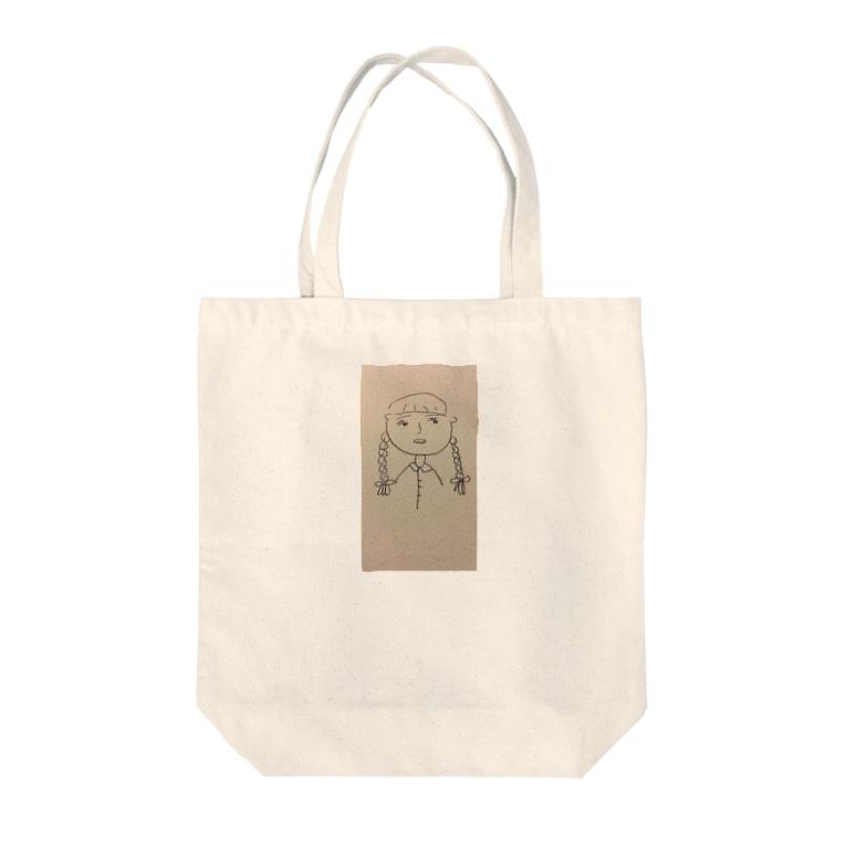 sasacoofiの顔 マルコ Tote bags