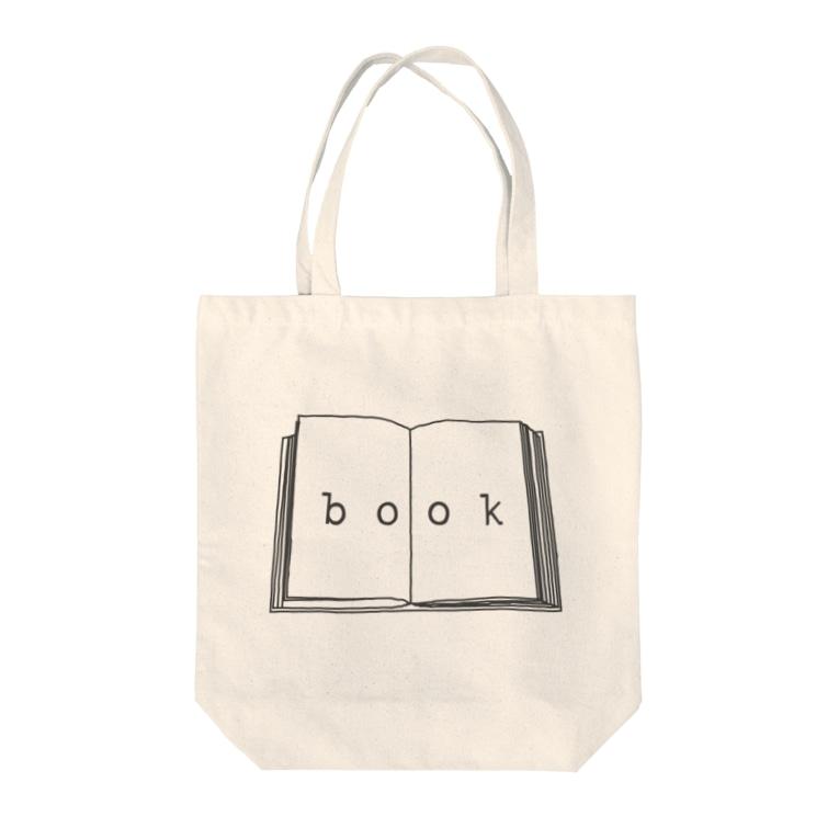 hitokoto-kotobaのhitokoto-kotoba_book Tote bags