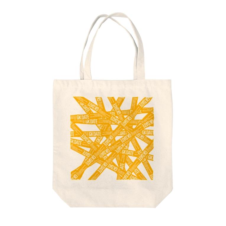 GK! WEB SHOPのGK DATE Tote bags