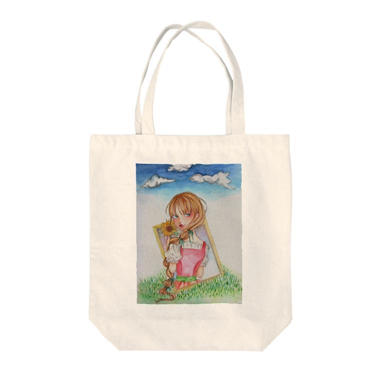 Nako's shopの残り香 Tote bags
