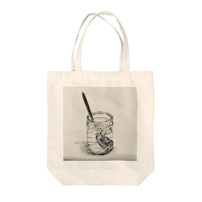ササキカレンの美大生風 Tote bags