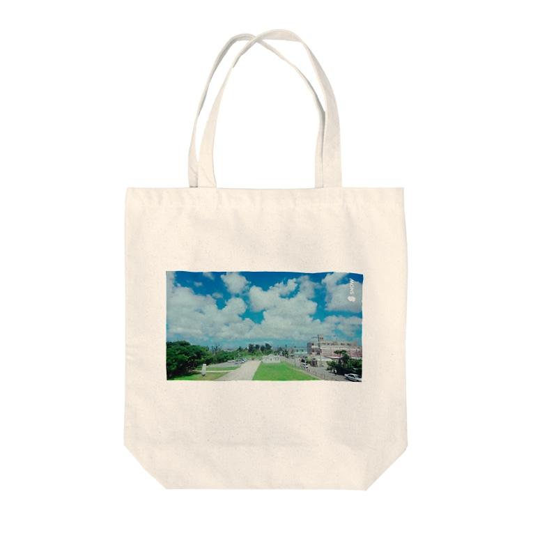 さーちゃん💓の沖縄の風景💓 Tote bags