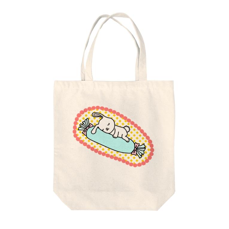 amyのすやすやちゅう。 Tote bags