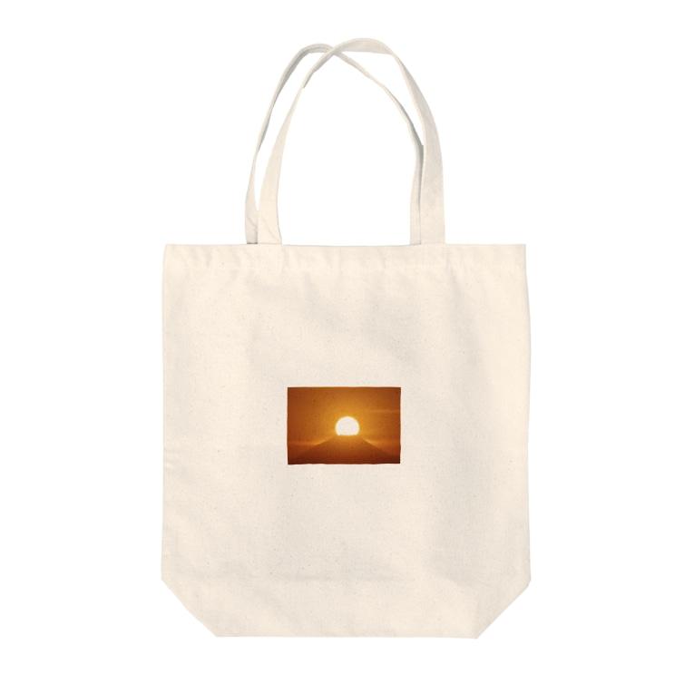 1234の太陽 Tote bags