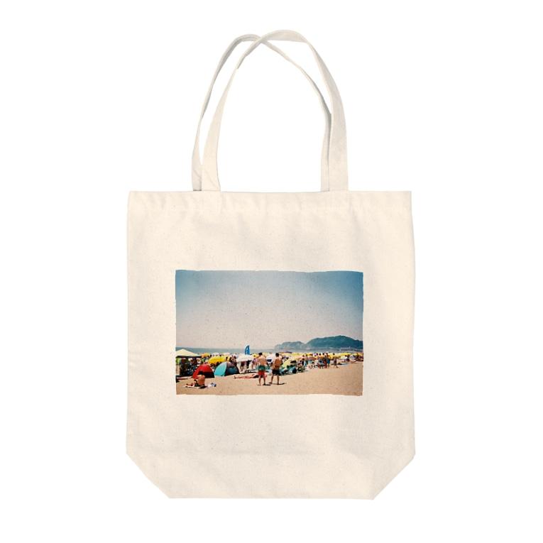 カネコ デストロイ マナミのあの夏に戻る Tote bags