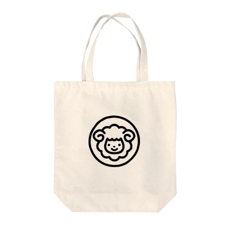 smilesheep公式グッズショップのsmilesheepグッズ Tote bags