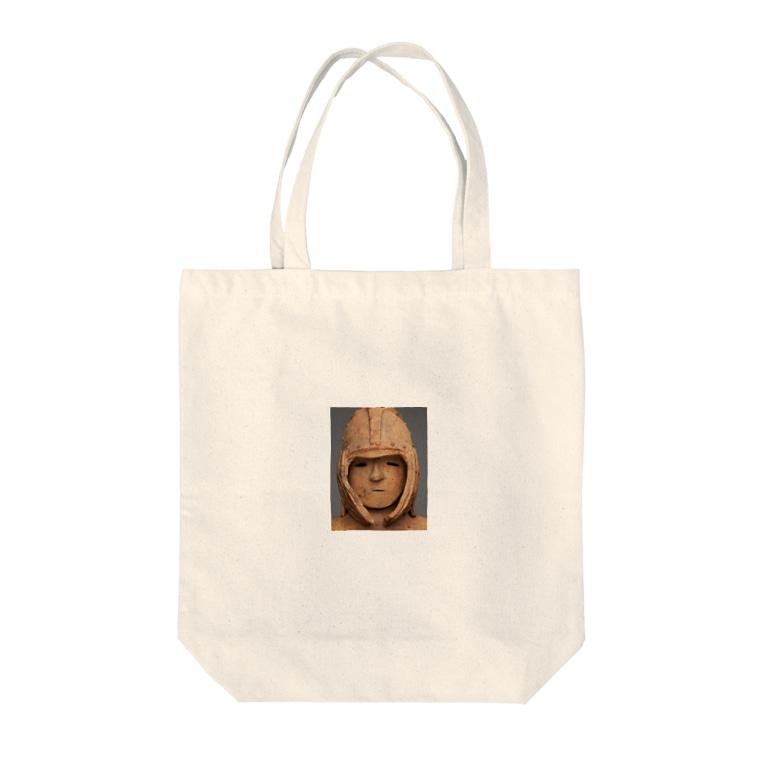 せおけんの武人埴輪 Tote bags