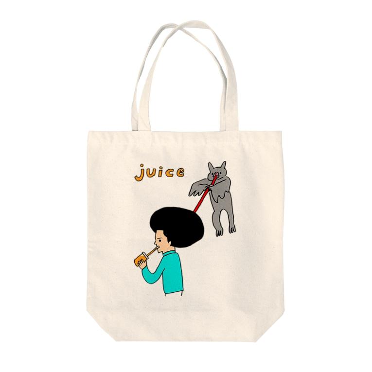 花くまゆうさくのJUICE(ジュース)2 Tote Bag