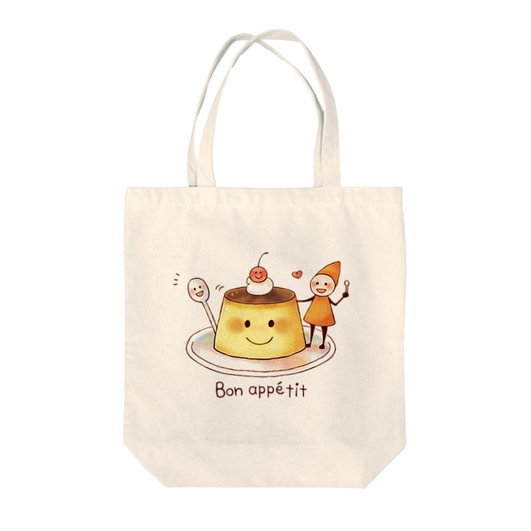 Eriko Miura   ミウラ エリコのBon appétit Tote bags