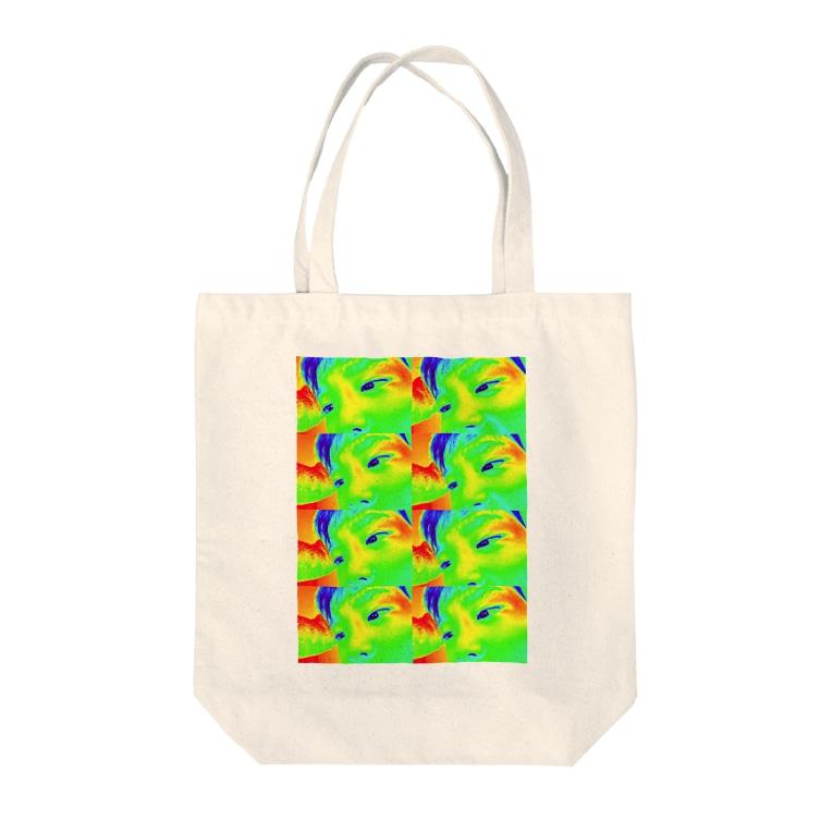 shop oh!la!la!のAndy Saku Tote bags