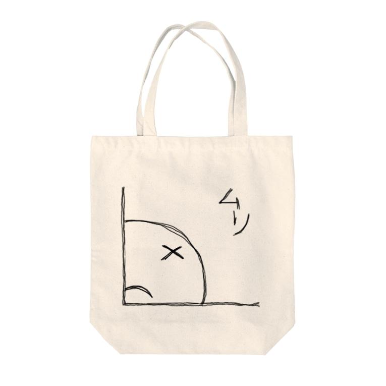 かどんちゅのかどんちゅ「ムリ」グッツ! Tote bags