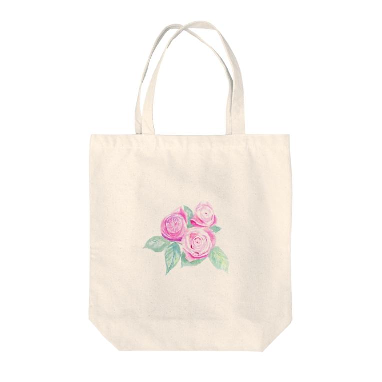 shzumoのRose Tote bags