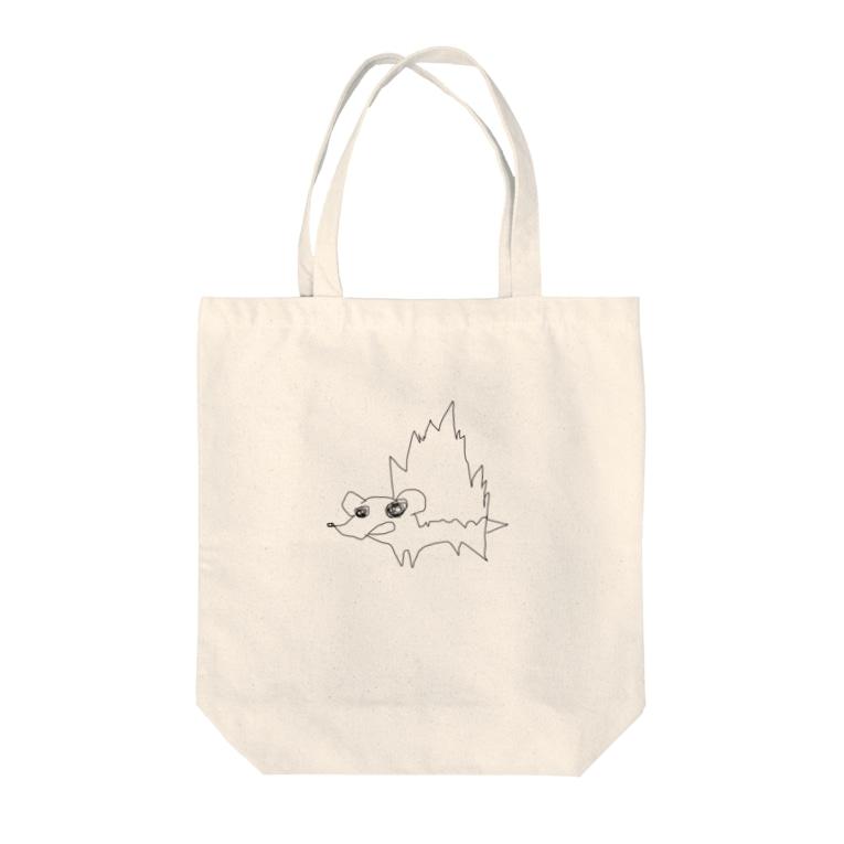 ☆かぼちゃまつり☆LINEスタンプ審査中のハリネズミ Tote bags