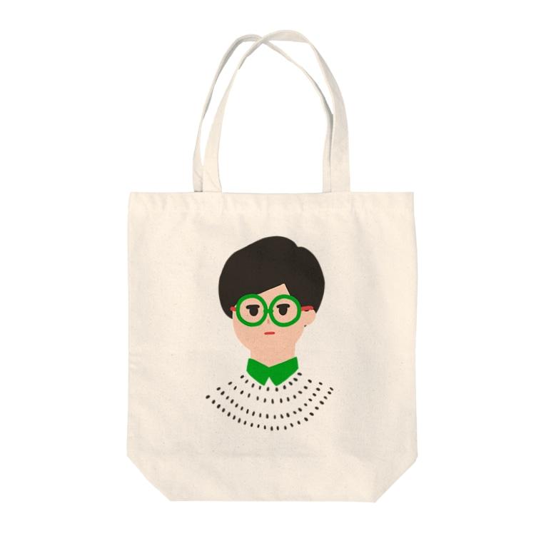 ムラムラの眼鏡メガネ -GLASSES- Tote bags