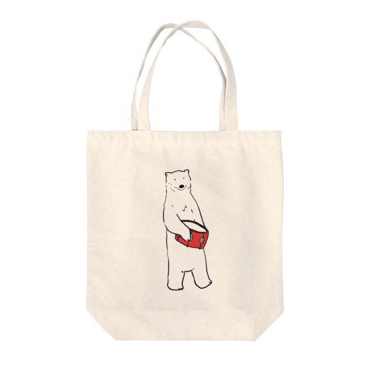 のわきのしろくま(スネア) Tote bags
