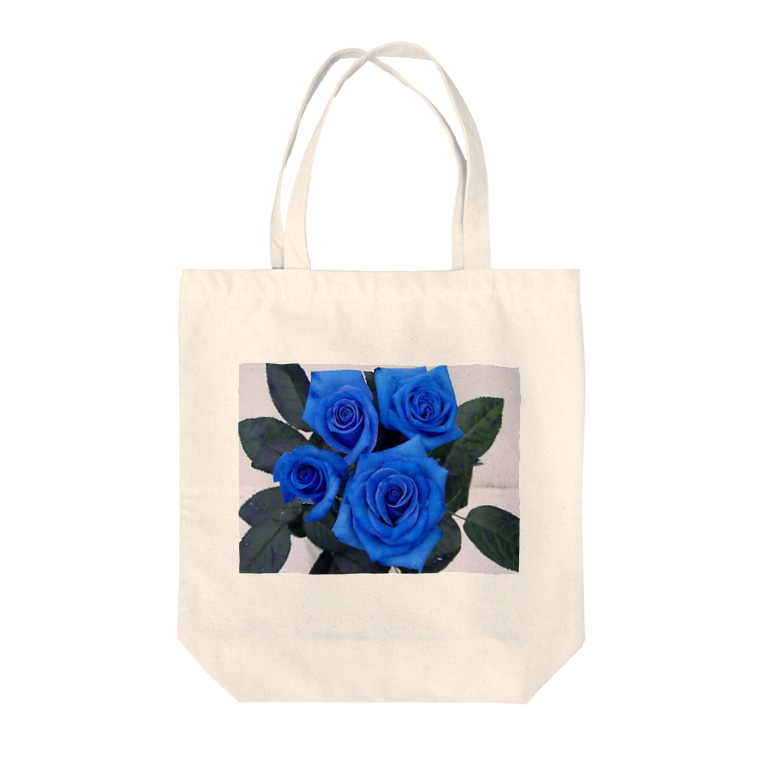 0608knynの青薔薇 Tote bags
