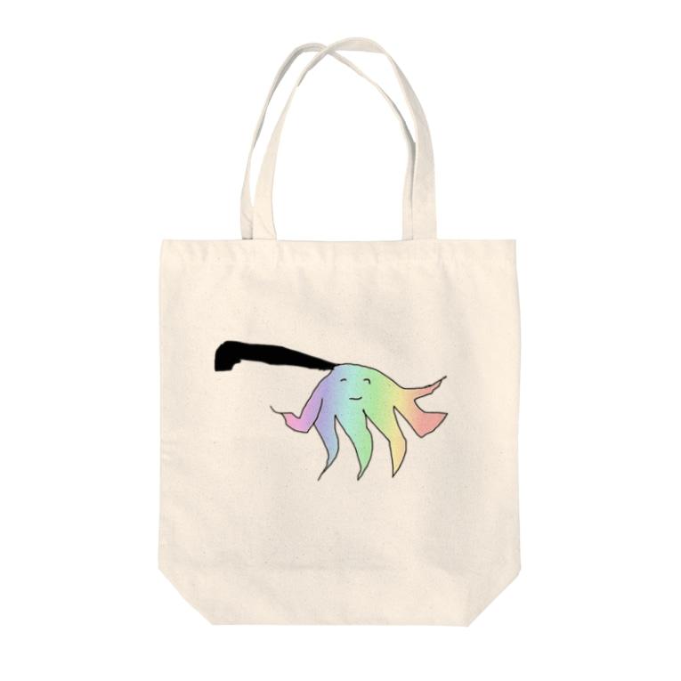 水草のハンディモップくん8 Tote bags
