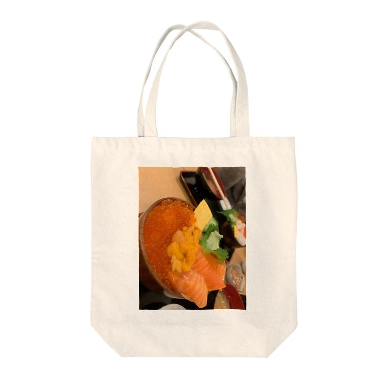 mのKAISENDON Tote bags