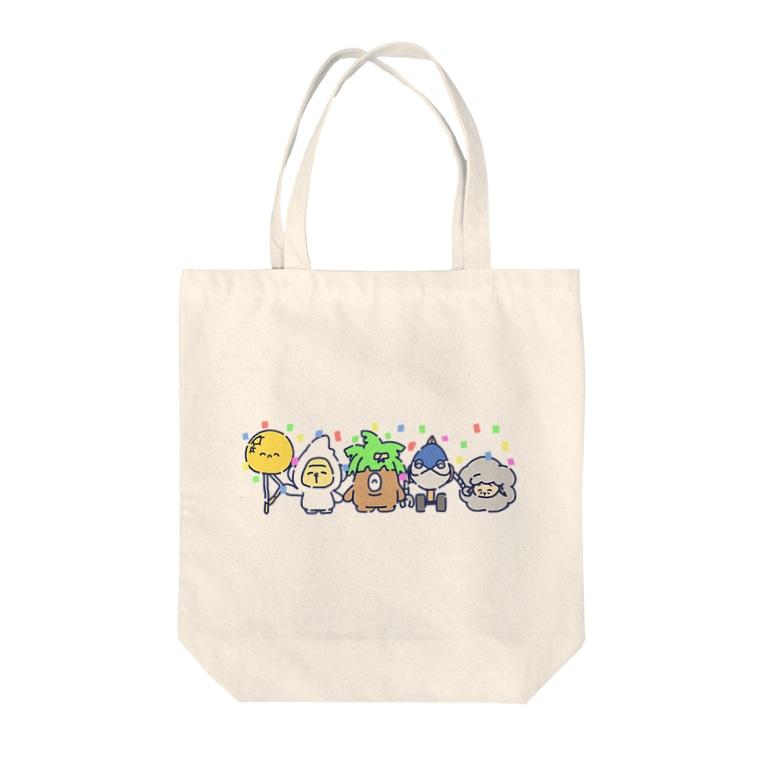 さらだふれんずのさらだふぁいぶ!(2019) Tote bags