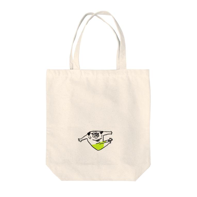 hanakaのぱぐぱぐ組体操(プログラムNo.5V字バランス) Tote bags