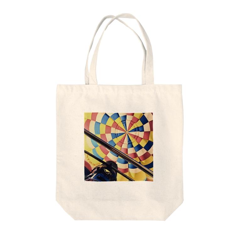 musicReeの気球 Tote bags