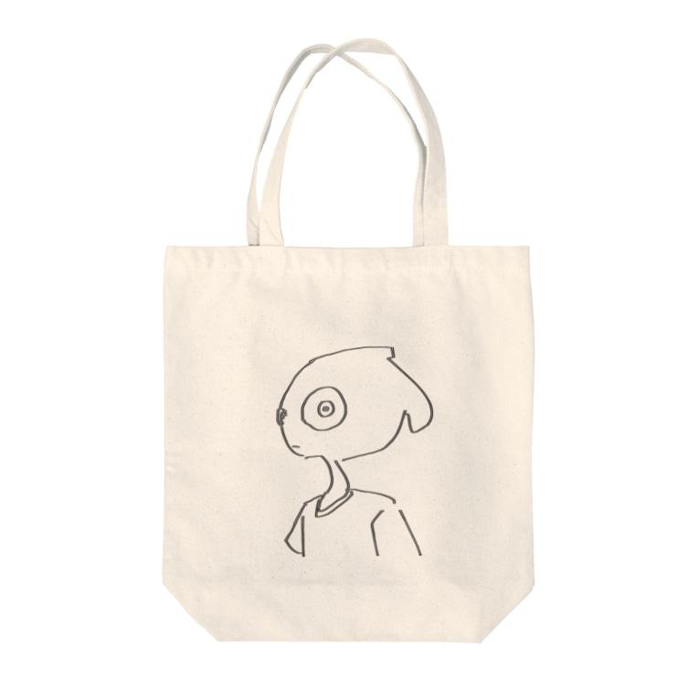 toba_の見んな^_^、 Tote bags