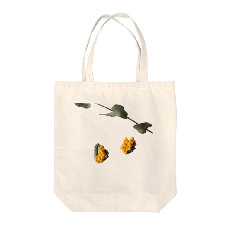 LePuyの陶土ミモザ&ユーカリ  Tote bags