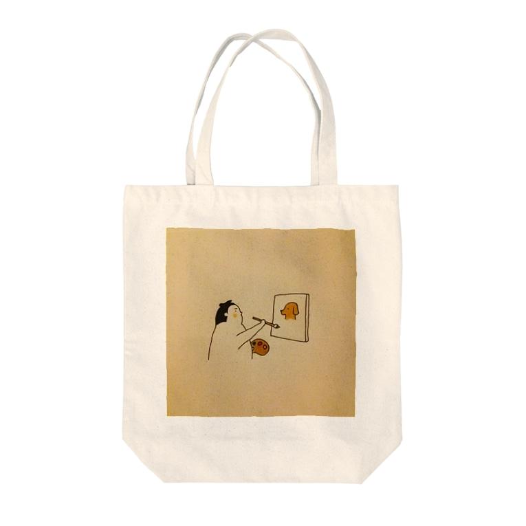 もくめ部屋の力士絵画 Tote Bag