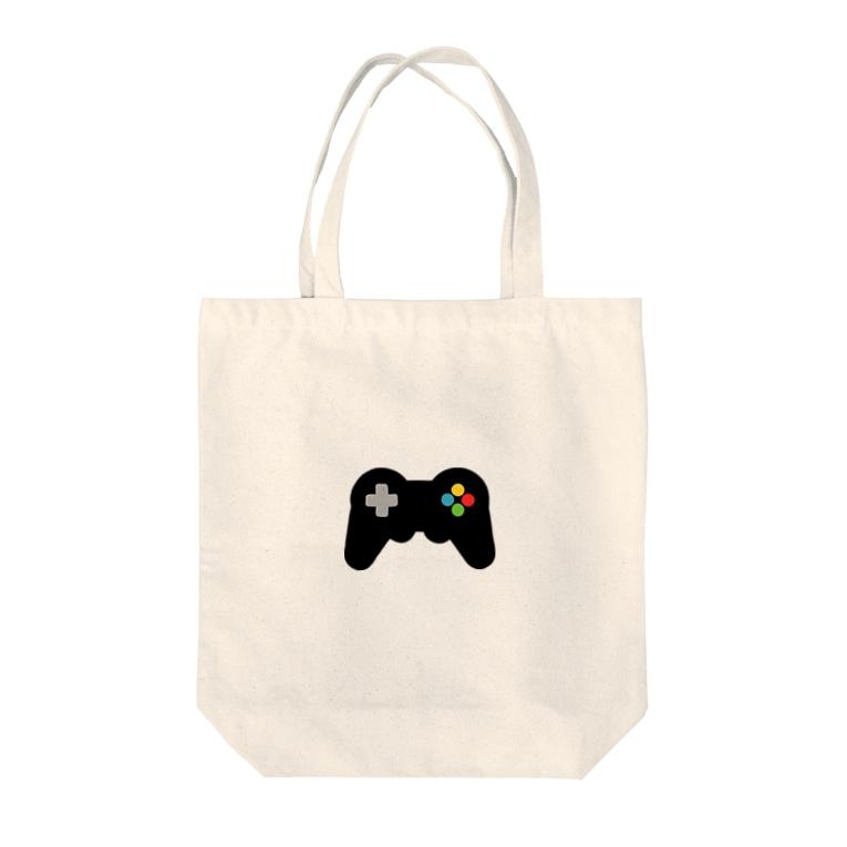 unoのGameController black Tote Bag