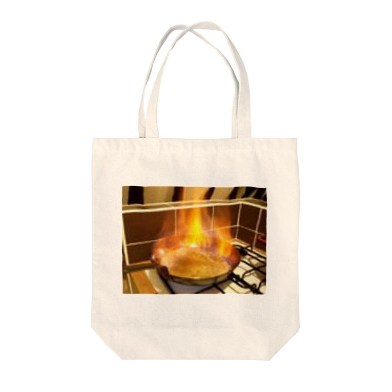 Rendez-vous à Tokyoランデヴーア トウキョウのフランベ Tote bags
