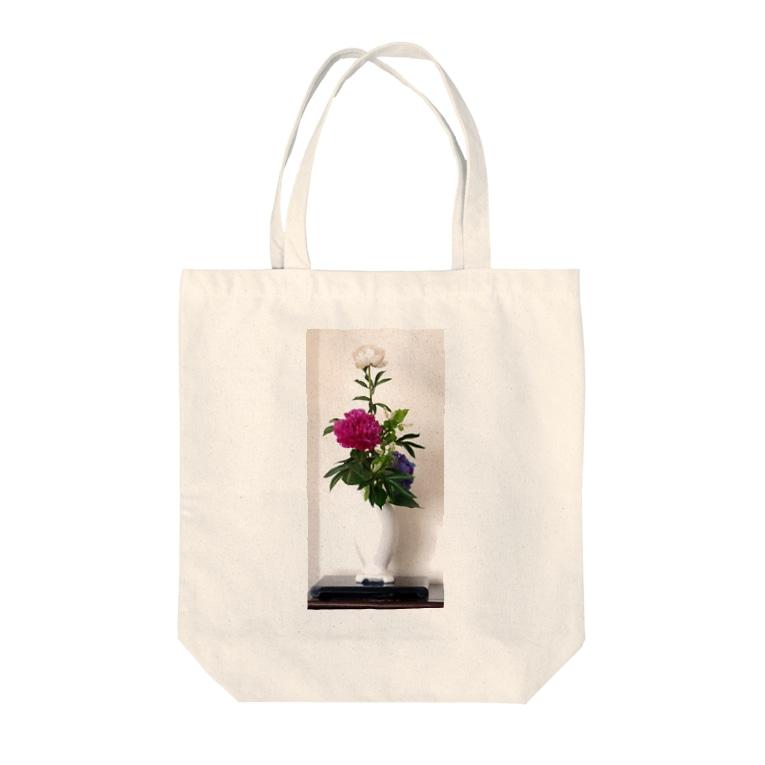 Rendez-vous à Tokyoランデヴーア トウキョウのIkebana いけばな Tote bags
