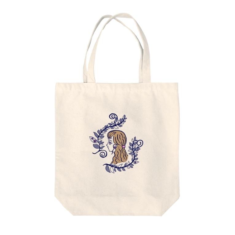 AitAnのジュリエット Tote bags