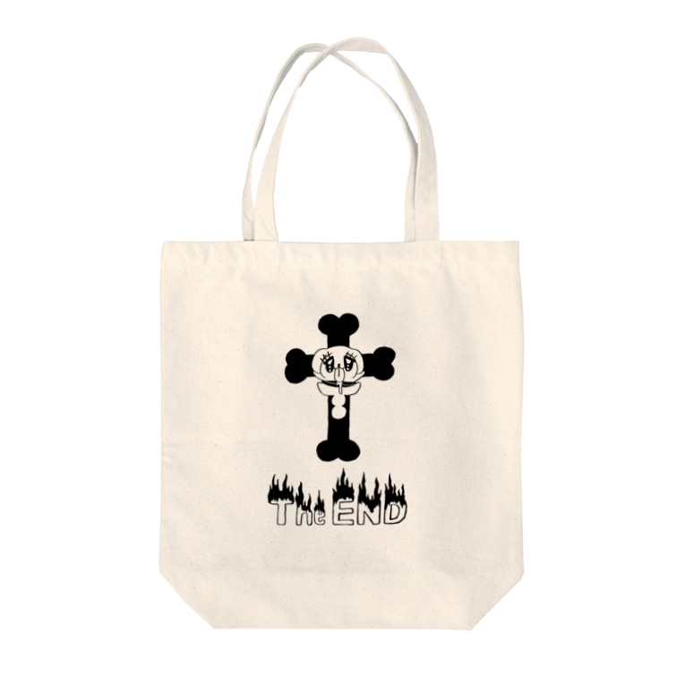 naminaのThe END Tote bags