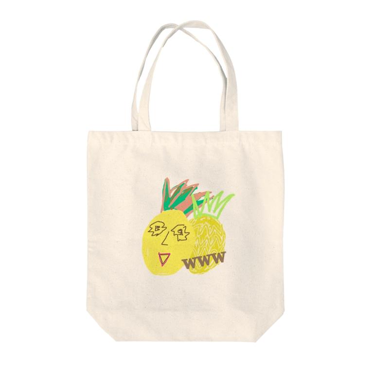 𝐍𝐚𝐧𝐚🇯🇵のパイナップルななお君 Tote bags