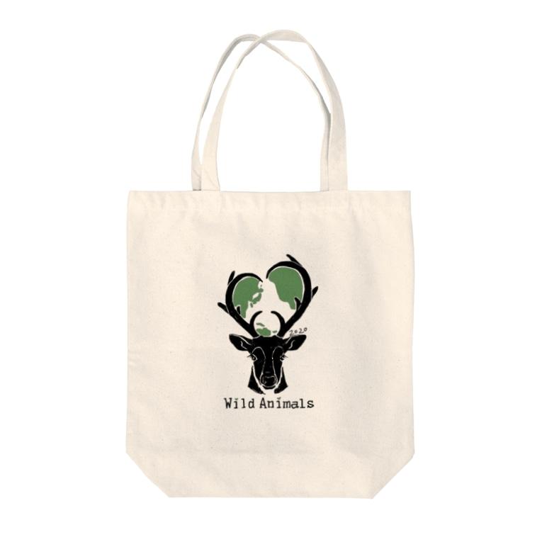 Wild Animals [公式]のエコバッグ [Wild Animals公式] Tote bags