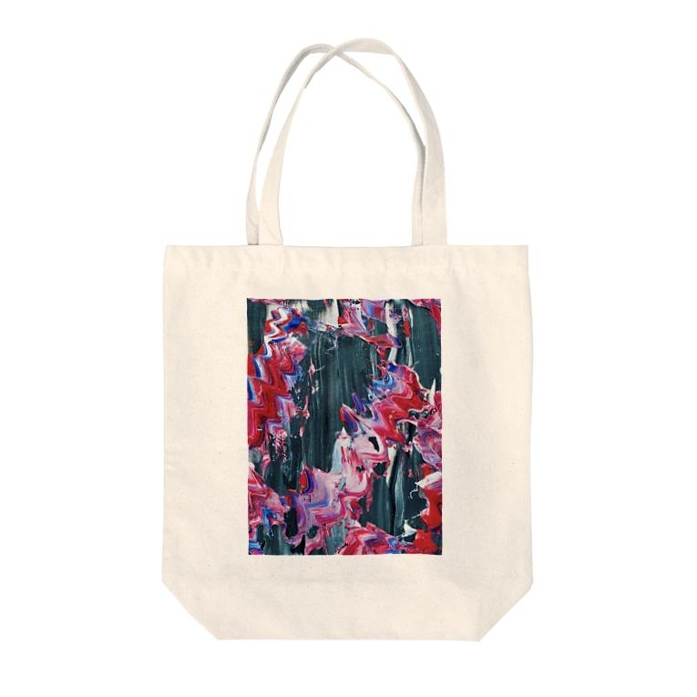 五十嵐灯の海 Tote bags
