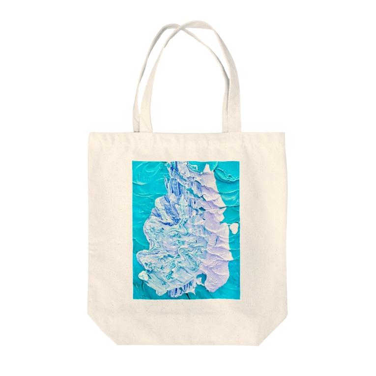 五十嵐灯の炎 Tote bags