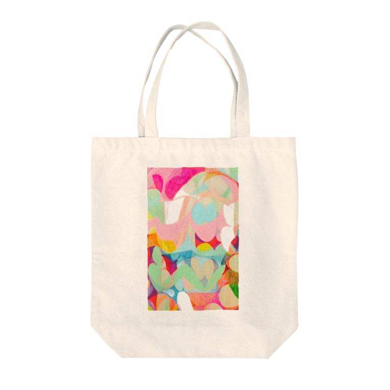HARUTA_MISAKIのlayer Tote bags