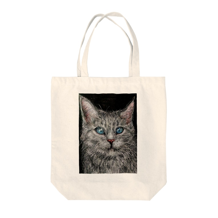 チグラアシャの架空の猫 Tote bags